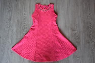 Neon pink alkalmi ruha  158-164 (13-14 év)   Lány ruhák     Lótusz ... b6b4436c35