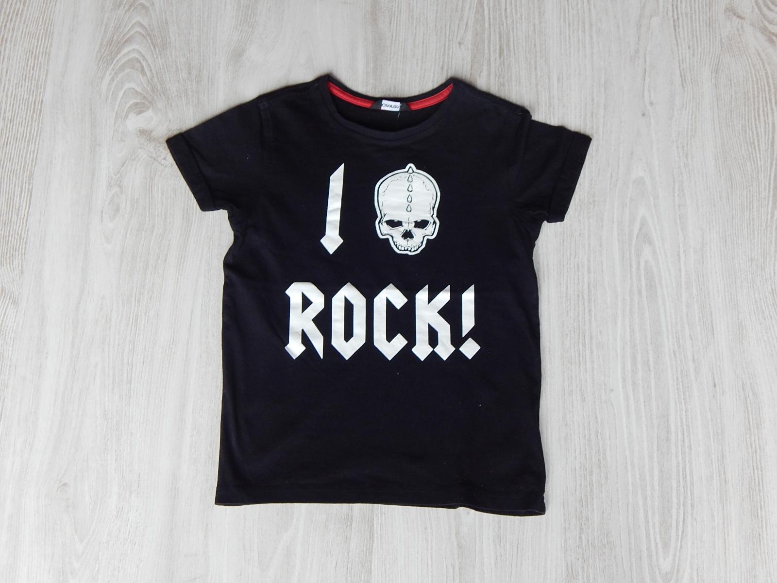 Fekete feliratos póló  122 (7 év)   Fiú ruhák     Lótusz Gyerekruha ... 14c466d09d