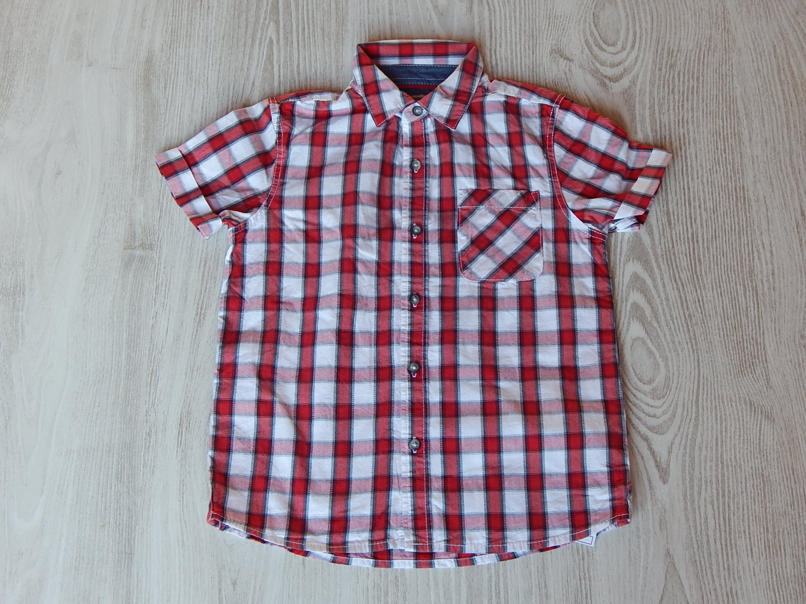 2a8b4bd108 Next piros kockás ing [122 (7 év) / Fiú ruhák] :: Lótusz Gyerekruha ...