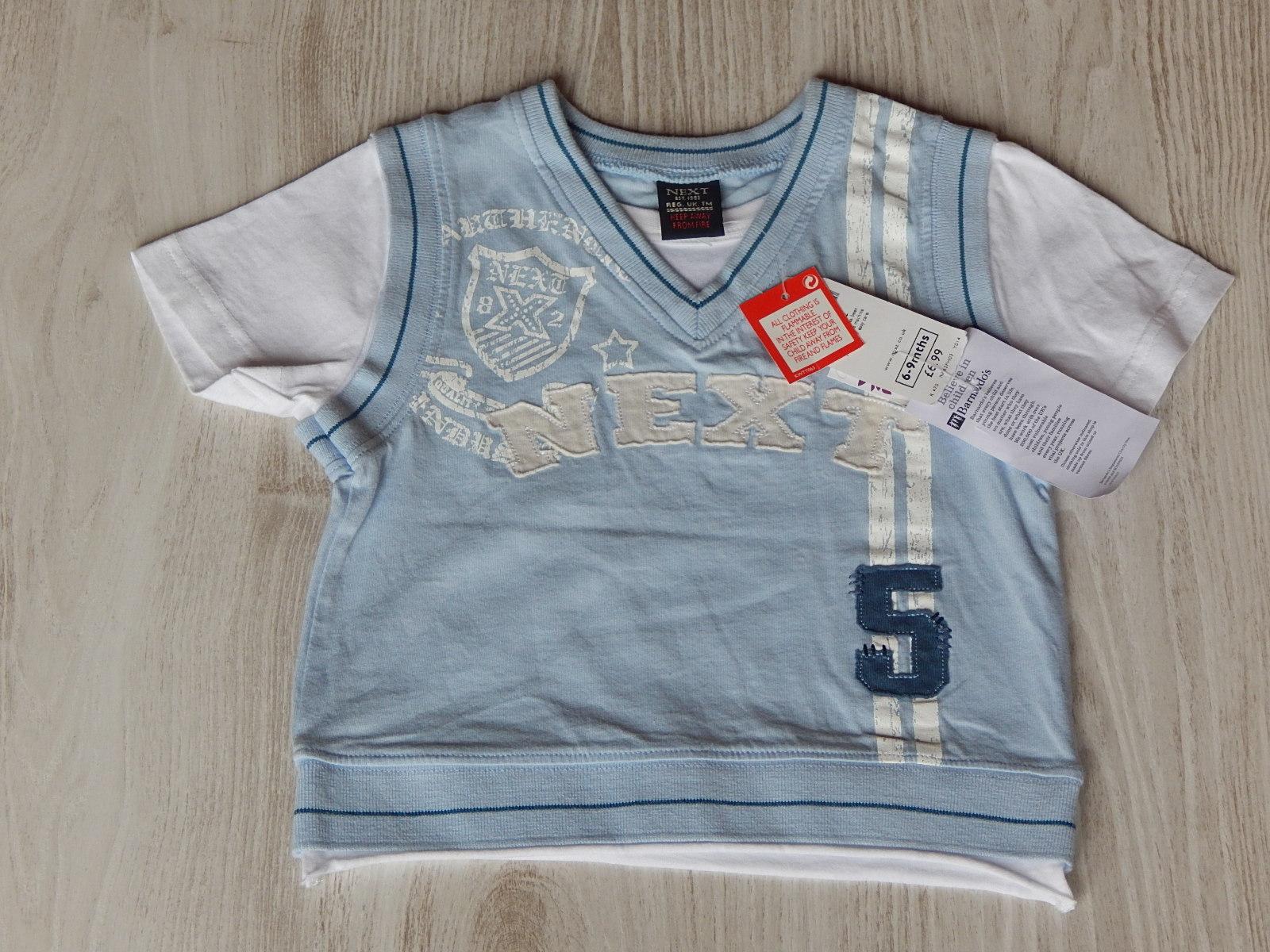 Kék mellényes póló  74 (6-9 hó)   Fiú ruhák     Lótusz Gyerekruha Webshop 0d48d8e8d3