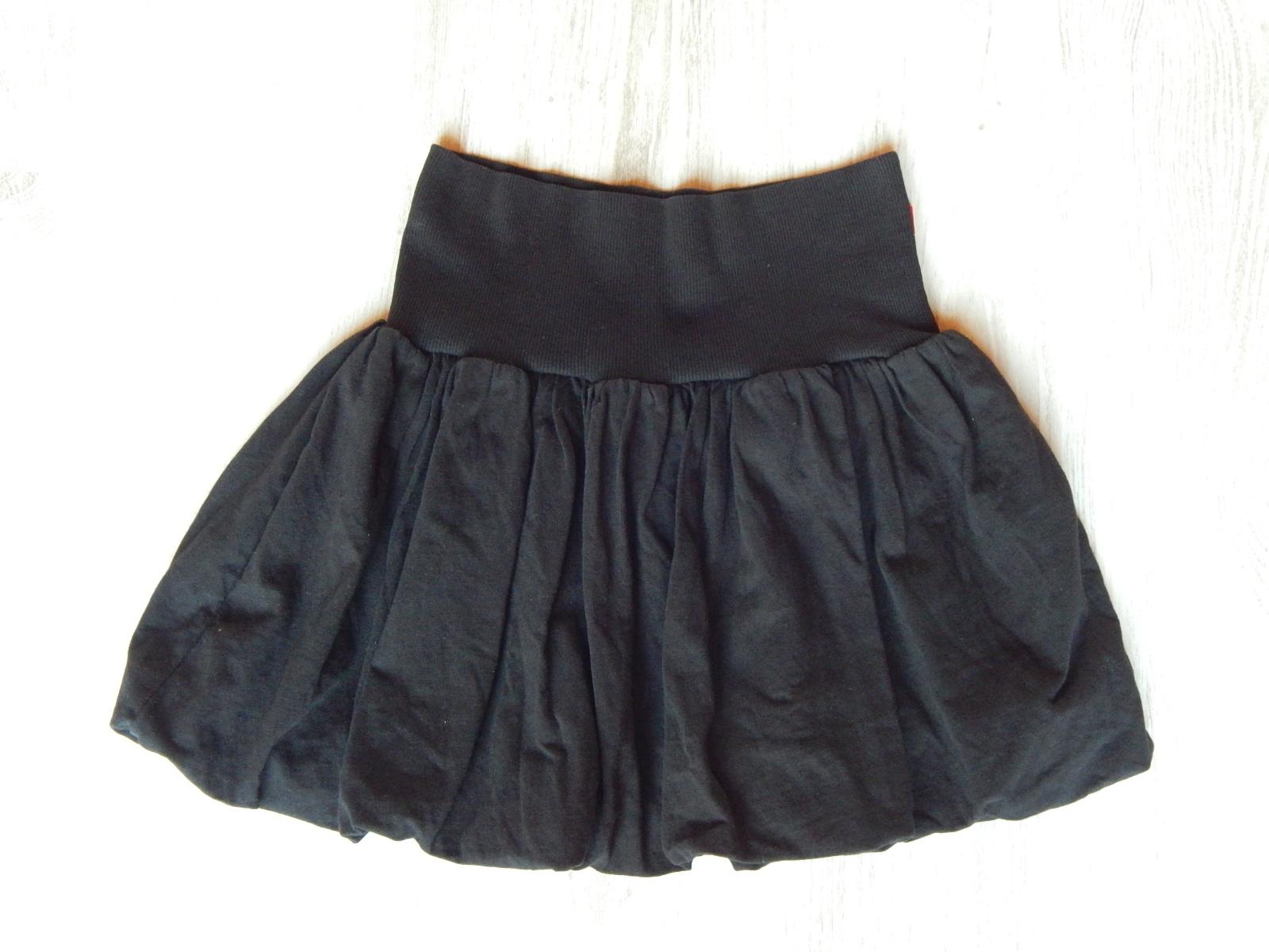 70833a848c Fekete pamut hagyma szoknya [146-152 (11-12 év) / Lány ruhák ...
