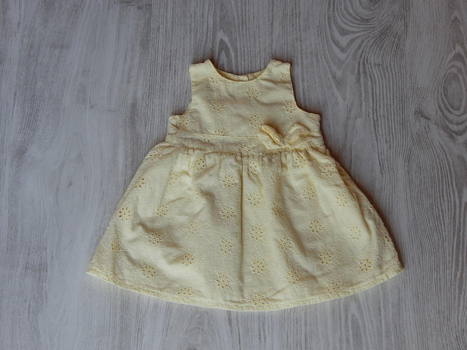 e48f824a42 Sárga csodás ruhácska [62 (0-3 hó) / Lány ruhák] :: Lótusz ...
