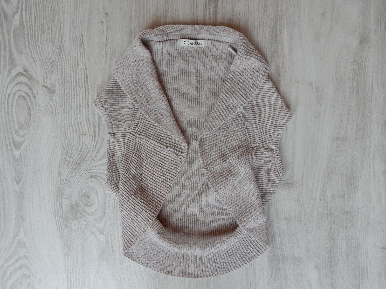 Bézs kötött boleró  158-164 (13-14 év)   Lány ruhák     Lótusz ... 93aa02e368