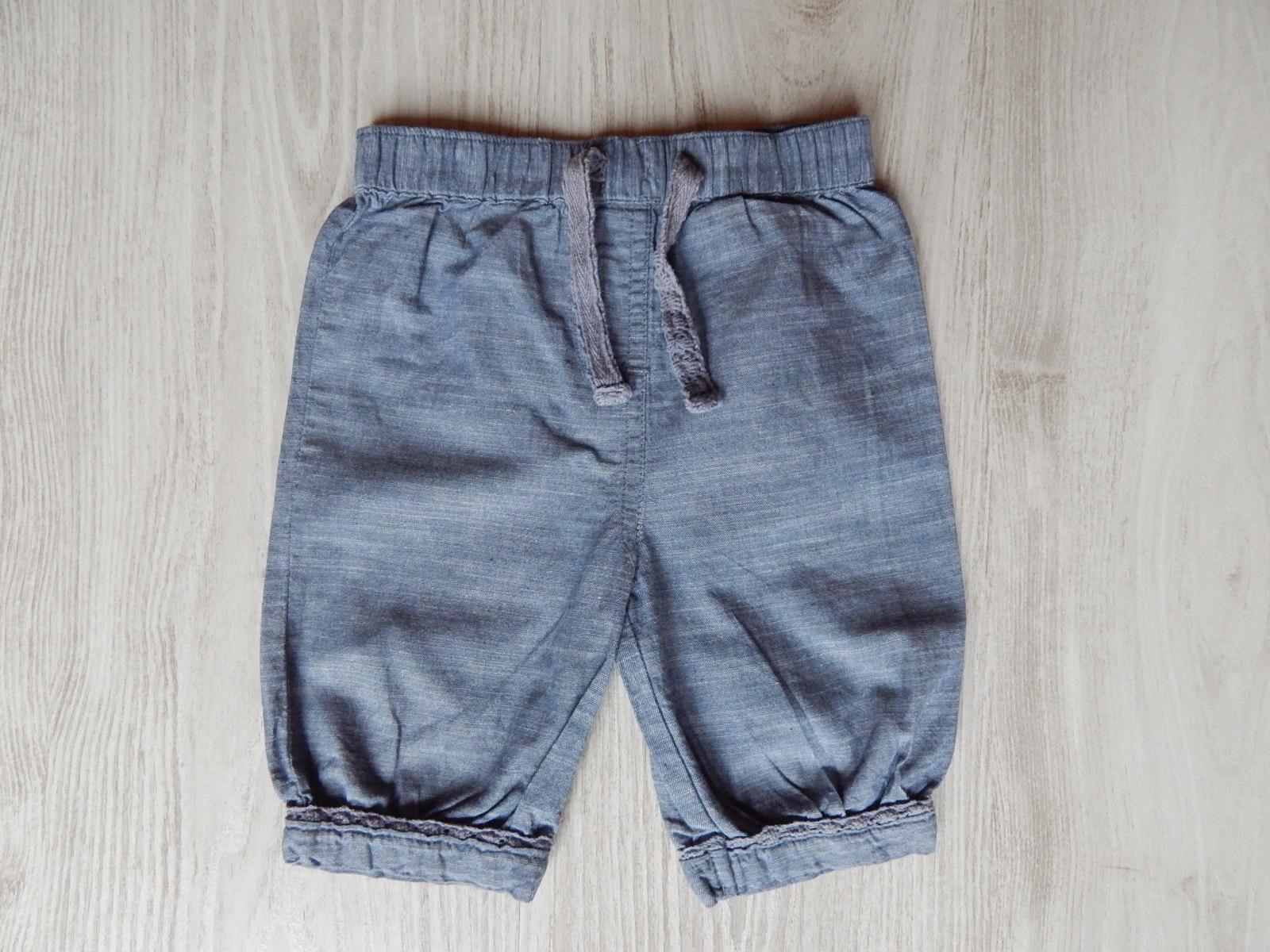 d723585345 Kék vászon nadrág [80 (9-12 hó) / Lány ruhák] :: Lótusz Gyerekruha ...
