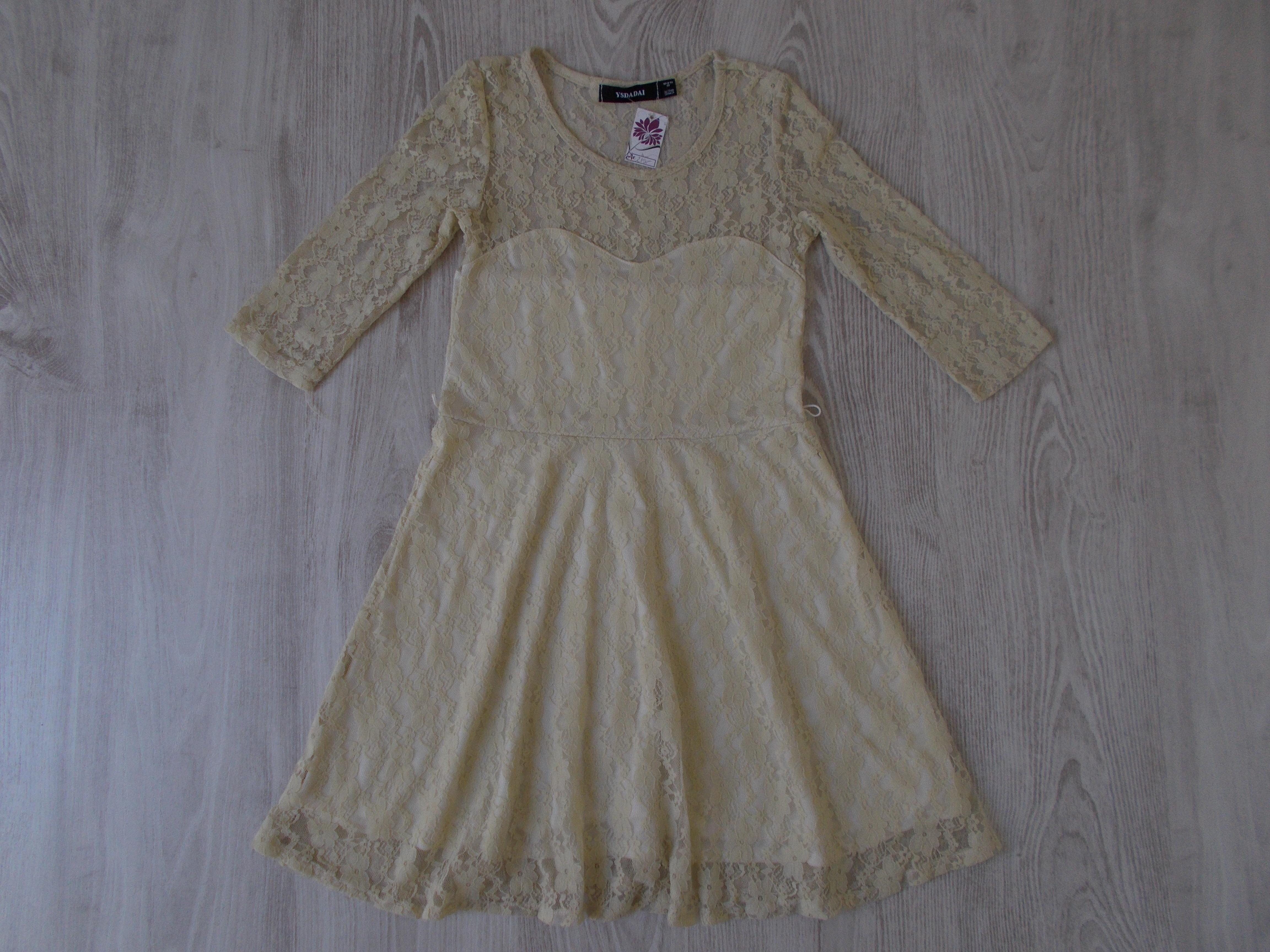Csipkés alkalmi ruha  158-164 (13-14 év)   Lány ruhák     Lótusz ... 3a333ca80d