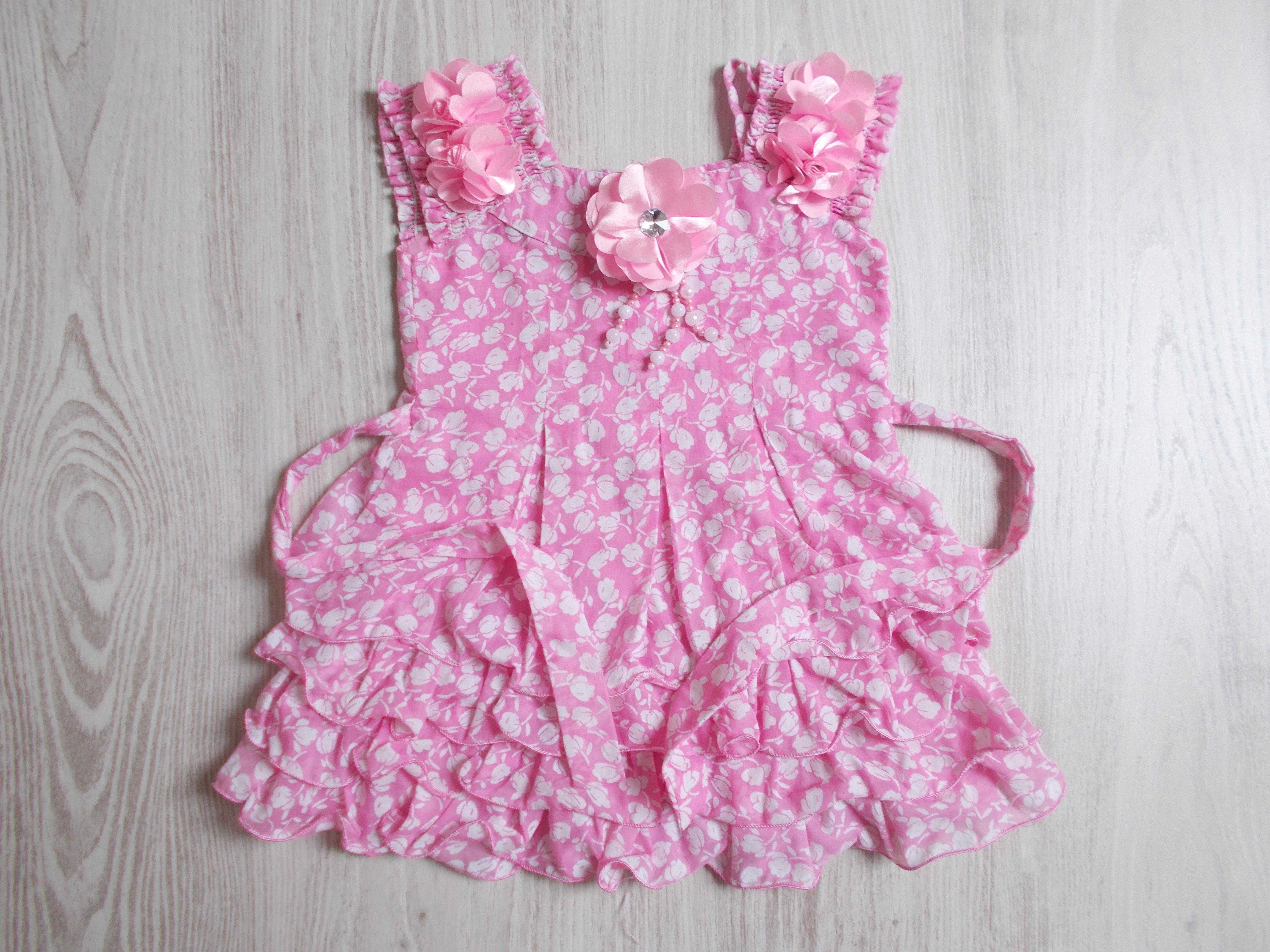 fa35119d4f Fodros nyári ruha [92 (18-24 hó) / Lány ruhák] :: Lótusz Gyerekruha ...
