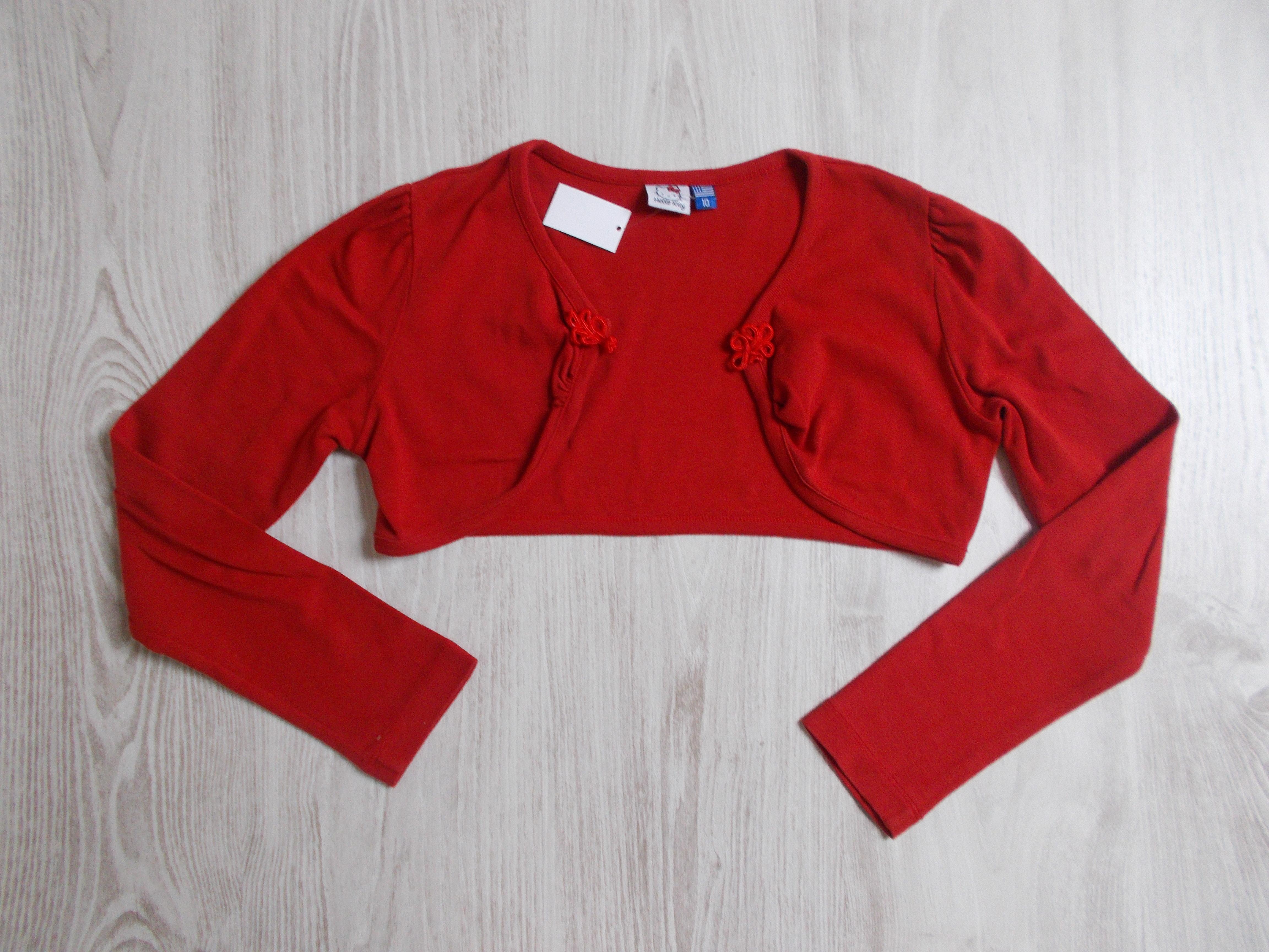 Piros boleró  140 (10 év)   Lány ruhák     Lótusz Gyerekruha Webshop 971dc9a59b