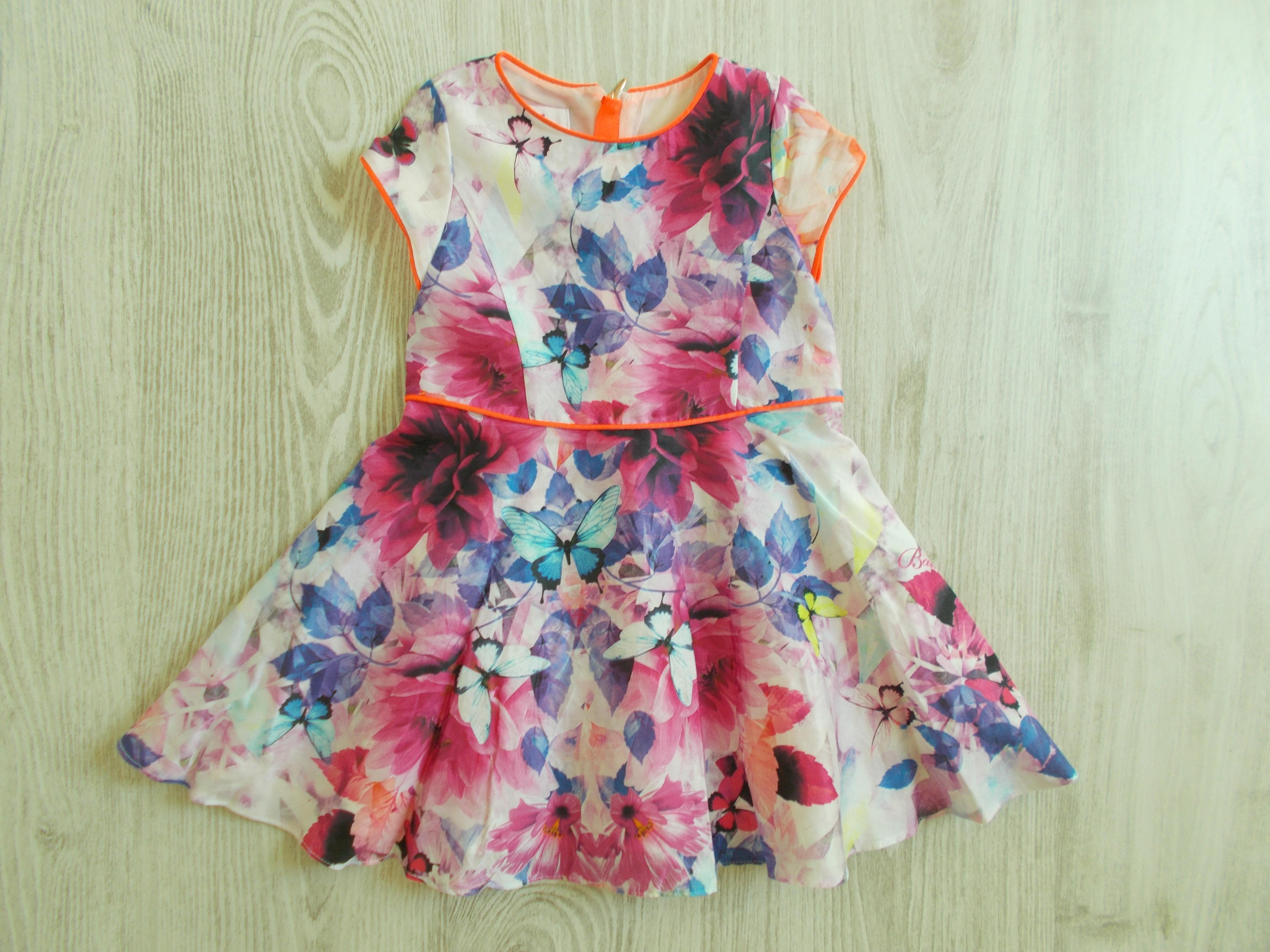 Virágos alkalmi ruha  86 (12-18 hó)   Lány ruhák     Lótusz ... 0edd82b849