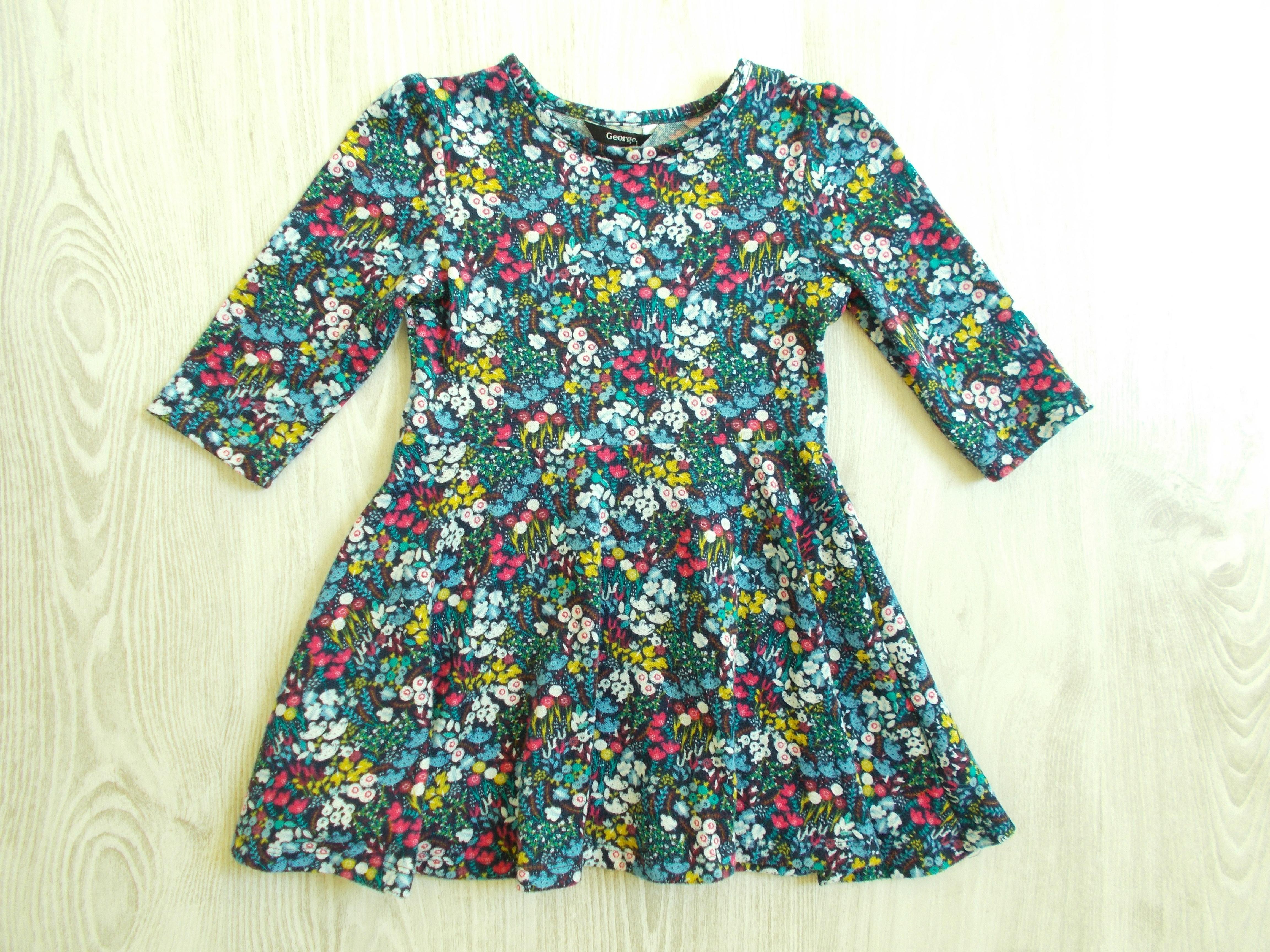 Virágos alkalmi ruha  104 (4 év)   Lány ruhák     Lótusz Gyerekruha ... 312b3c0a44