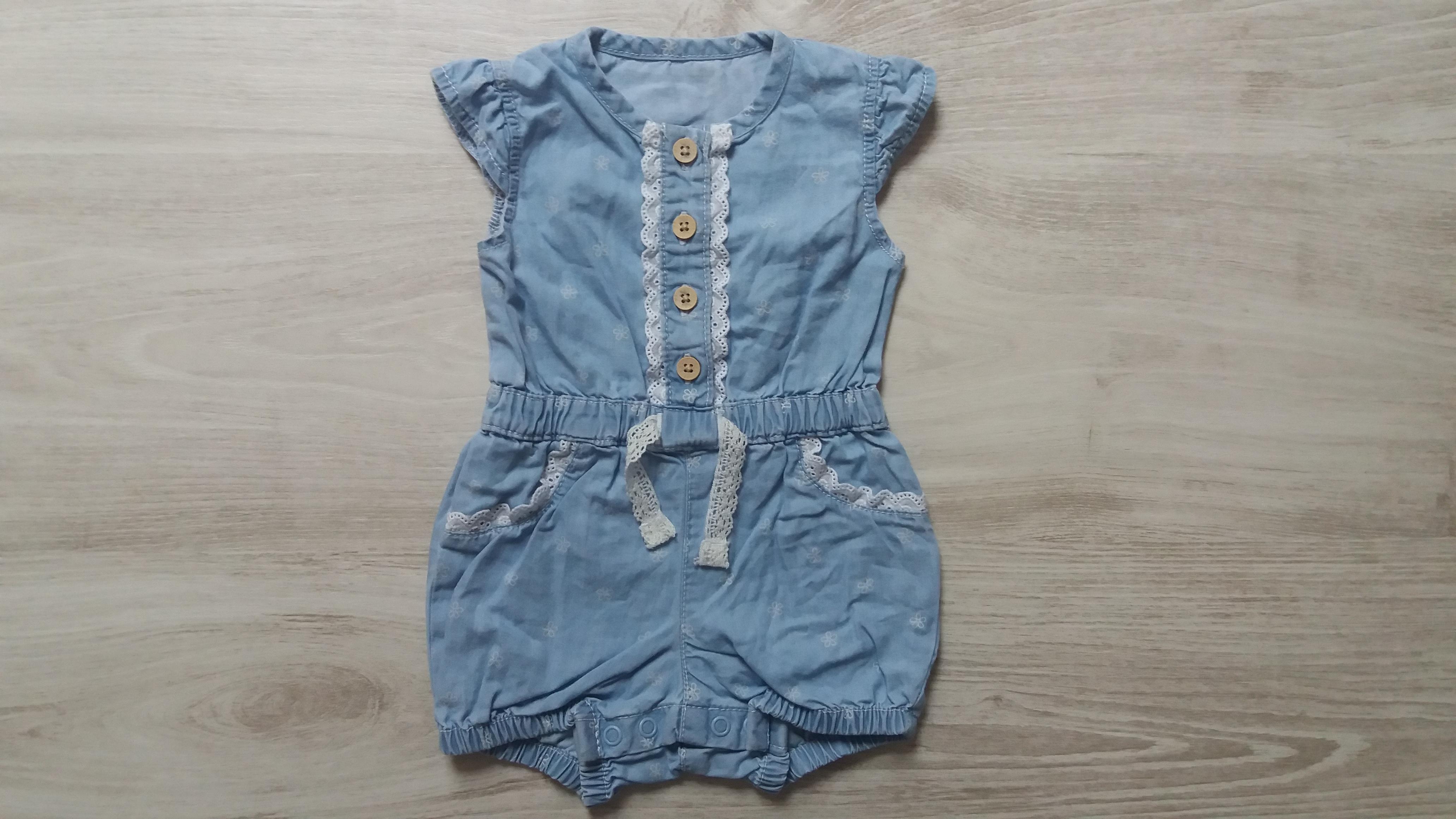 Kék ruha  62 (0-3 hó)   Lány ruhák     Lótusz Gyerekruha Webshop 5714b16ec2