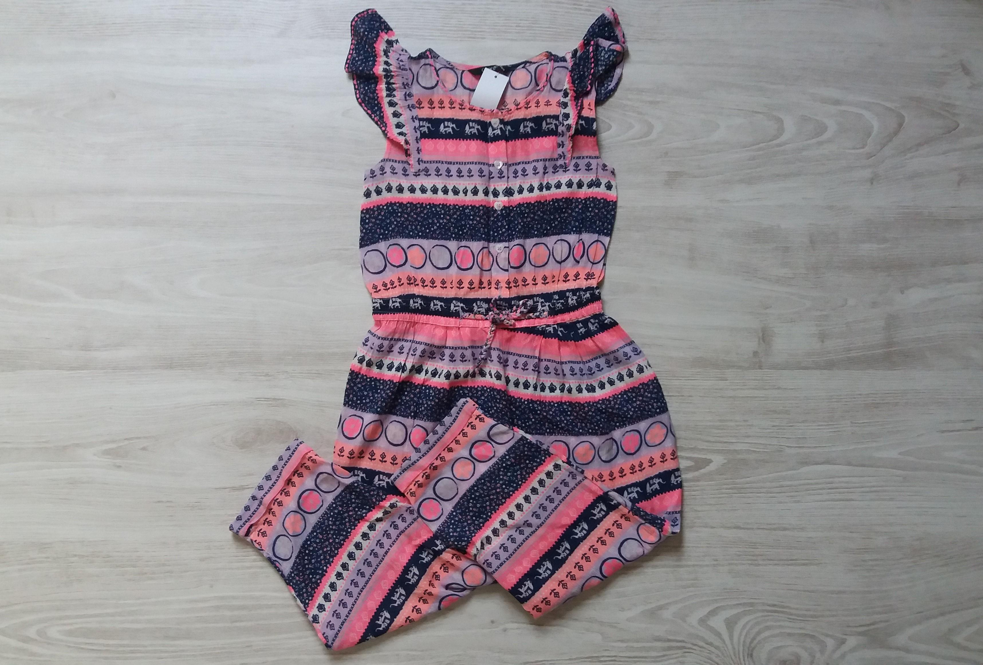 Mintás overál  104 (4 év)   Lány ruhák     Lótusz Gyerekruha Webshop a0e893f9f2
