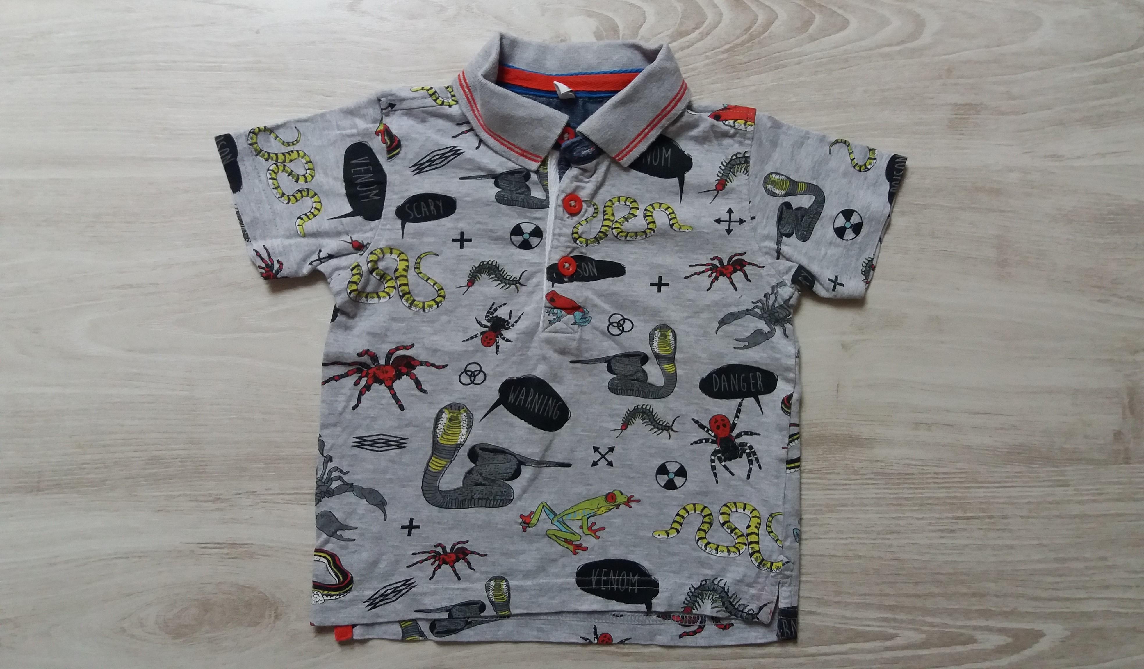 b5bfbb4736 Mintás póló [86 (12-18 hó) / Fiú ruhák] :: Lótusz Gyerekruha Webshop