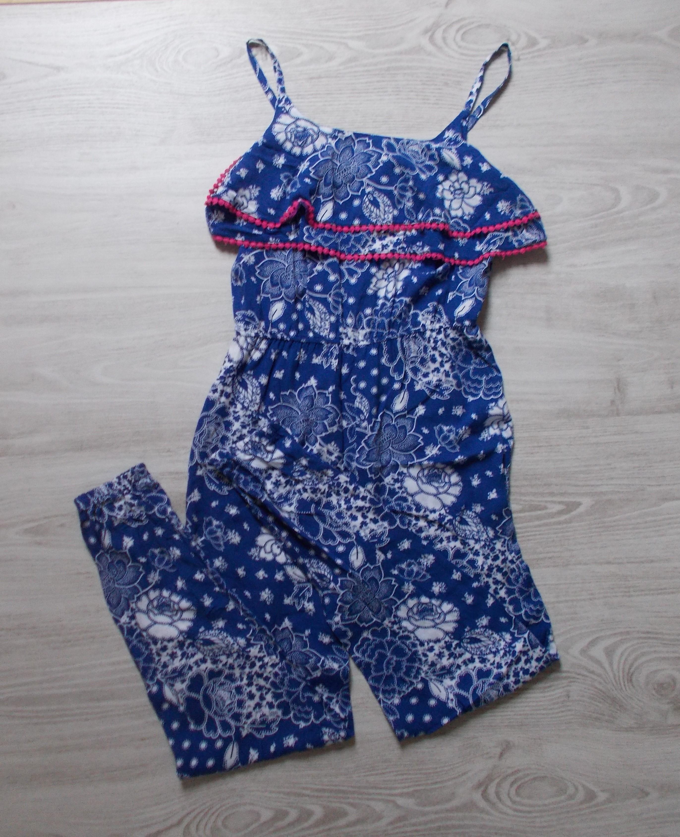 Mintás overál  158-164 (13-14 év)   Lány ruhák     Lótusz Gyerekruha ... db87a0a590